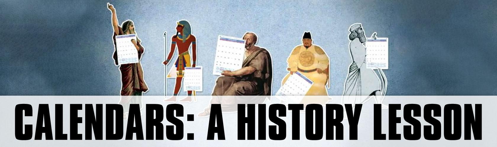 Calendars: A History Lesson