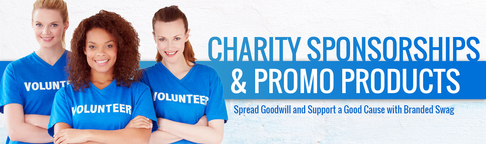Charity Sponsorships and Promo Products