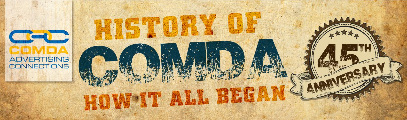 History of COMDA: How it All Began!