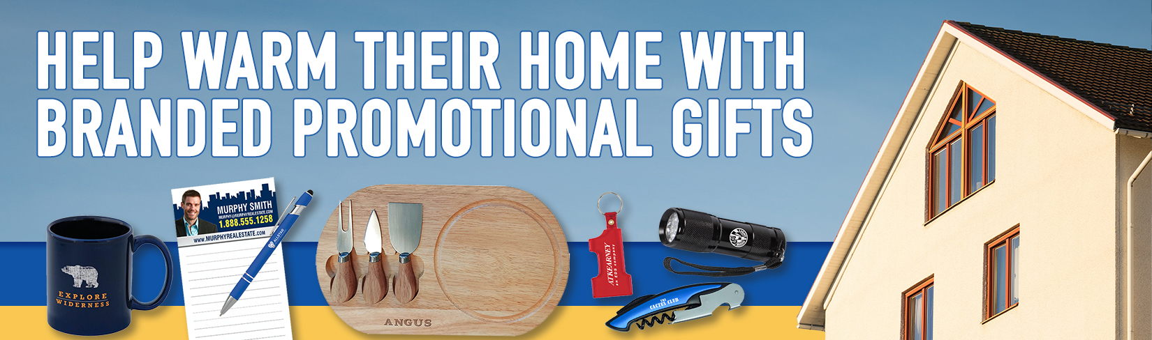 Help Them Warm their Home with Branded Promotional Gifts!