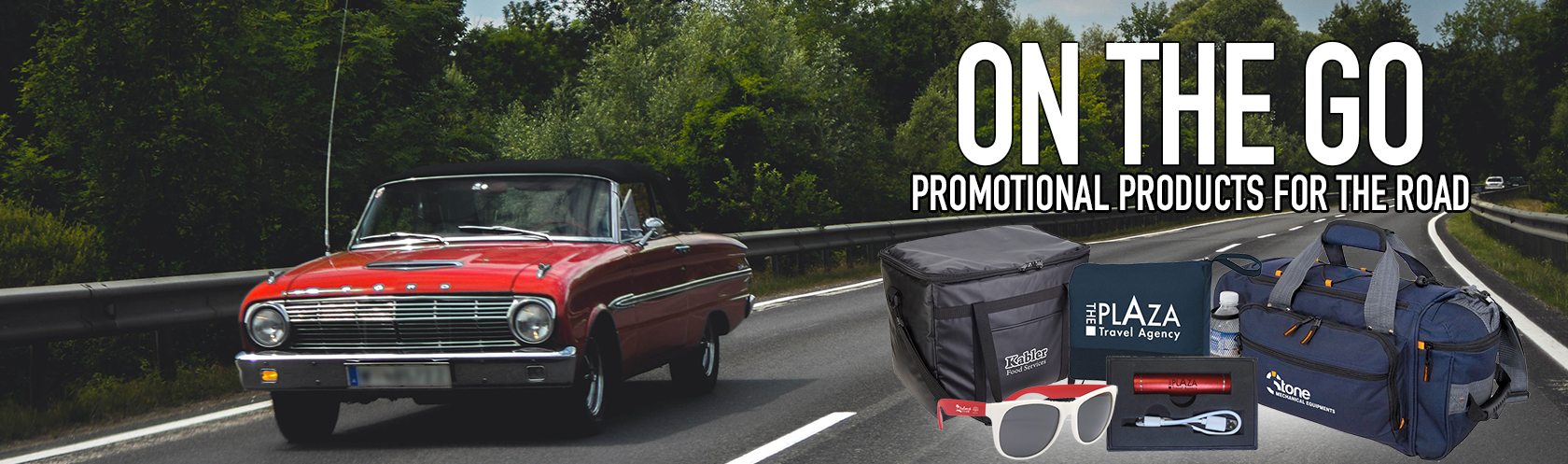 On the Go: Promotional Products for the Road