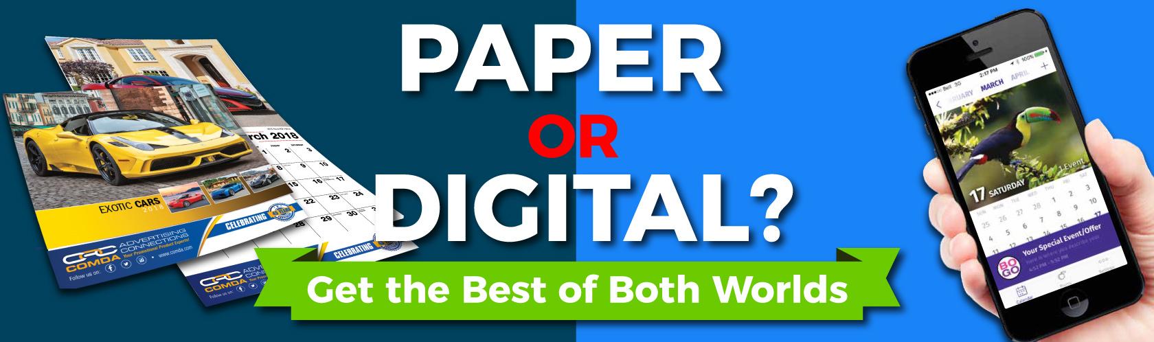 Paper or Digital?