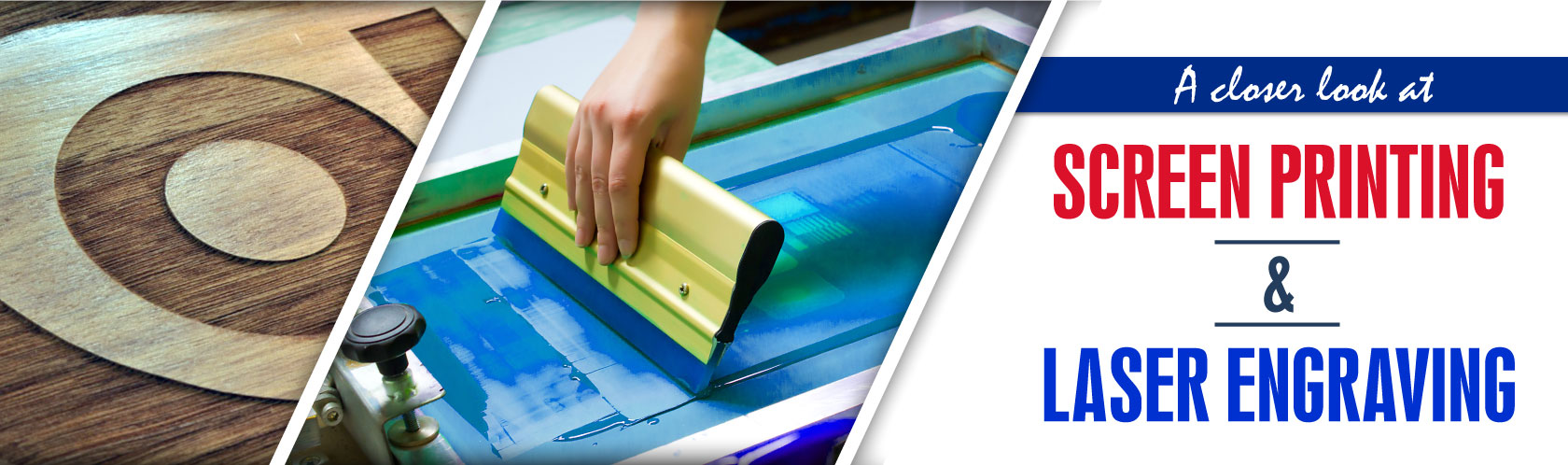 Customizing Your Product: A closer look at Screen-printing & Laser Engraving