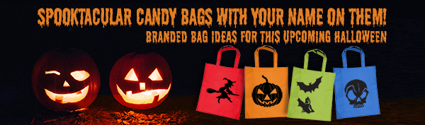 Spooktacular Candy Bags with Your Name on Them!