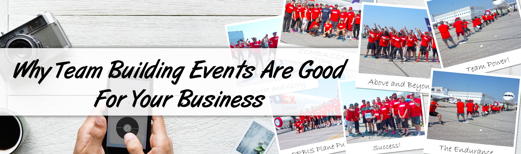 Why Team Building Events Are Good For Your Business