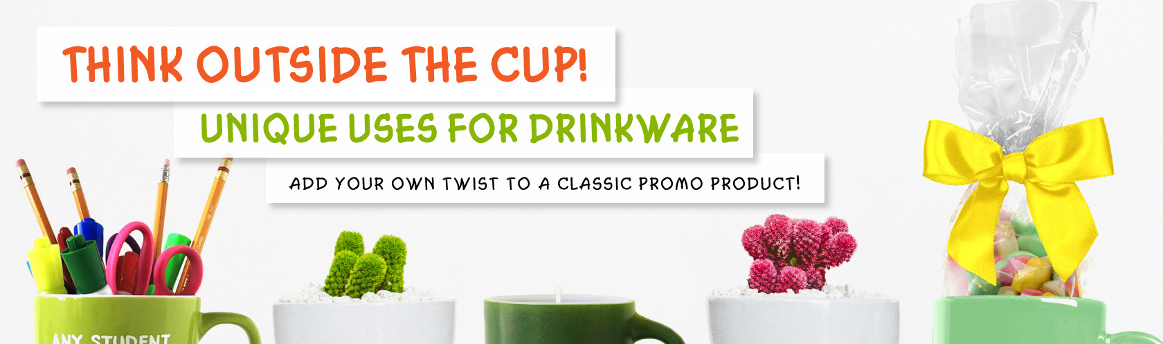 Think Outside the Cup! Unique Uses for Drinkware