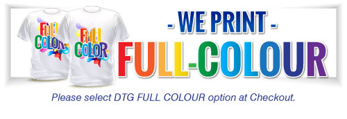 Direct to Garment Full-Colour Printing